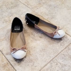 DV Dolce Vita Studded Leather Ballet Shoes Great!